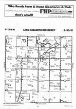 Lake Elizabeth T118N-R33W, Kandiyohi County 1991